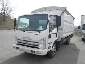 2012 Isuzu N Series 16ft box w/ rollover top | Diesel