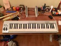 M-Audio Midi Keyboard, Keystation 61 es, USB