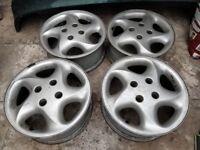 """Citroen Saxo VTR/VTS 15"""" Alloy Wheels"""