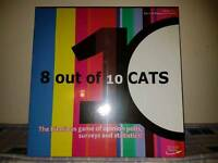 Brand New 8 out of 10 cats Board Game RRP 12