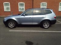 BMW X3 2.0L DIESEL 4X4 - MOT MAY 2018 - MUST SELL - NO SENSIBLE OFFER REFUSED