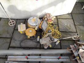 Megamixer and plastering job lot