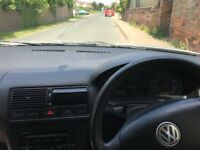 VW golf for sale spares or repair