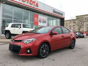 2014 Toyota Corolla S PACKAGE - NAVIGATION - PUSH BUTTON START