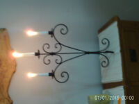 Metal candle stand £5