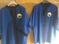 Blue Tai Chi jackets XL £20 each