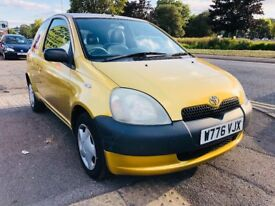TOYOTA YARIS 3 DOOR MANUAL 1.0L