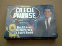 NEW CATCH PHRASE TV BOARD GAME.