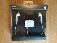 Apple iPod Radio Remote New