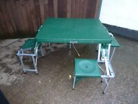 Folding Picnic Table Delivery Available