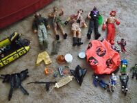 5 x ACTION MAN Figures and other bits n bobs
