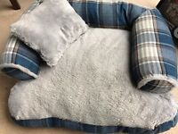 Dog Bed with Matching Pillow