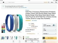 Fitbit flex 2 replacement bands (not Fitbit branded)