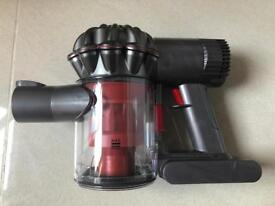 Dyson v6 total clean red