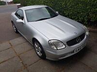 Mercedes SLK Long mot