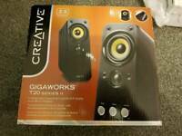 Creative T20 series II 2.0 stereo speakers