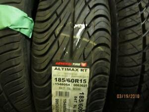 185/60R15 1 ONLY NEW GENERAL A/S TIRE