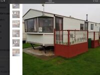Caravan to rent let hire/holiday in skegness