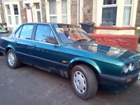 BMW 318i Automatic. Classic car. Excellent drive. 11 months MOT