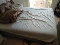 Ikea Sultan Storfors Double Bed Frame w Ikea Mattress