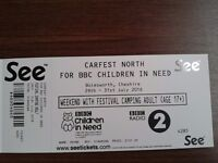 CarFest North 3days adult Single ticket for sale