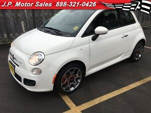 2015 Fiat 500 Sport, Automatic, Leather