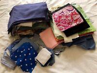 Fabric Remnants Poly Cotton/Cotton