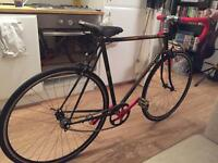 One of a kind! Peugeot Single Speed road bike