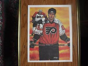 """FS: 1992 Classic Sports """"Eric Lindros"""" Limited Edition Print London Ontario image 1"""