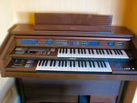 YAMAHA ELECTONE ORGAN WITH STOOL - FE70 MODEL
