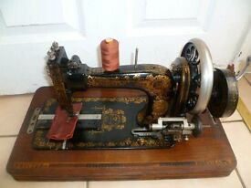 Antique Frister & Rossmann Manual Sewing Machine