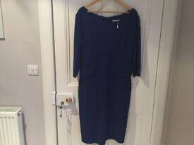 Gina Bacconi blue dress size 18