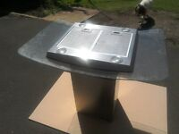 Stainless steel cooker hood, never been used, mint condidtion