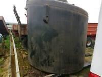 Balmoral 2600 litre bunded diesel fuel station bowser tank