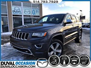 2015 Jeep Grand Cherokee Overland DIESEL + NAVIGATION + TOIT OUV