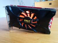 Nvidia GTX 460 1GB Graphics Card [Palit Brand]