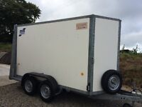 IFOR WILLIAMS BV105 box TRAILER close to mint condition