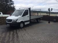 Mercedes sprinter 313 drop side