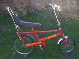 CHOPPER TYPE BIKE ONE OF MANY QUALITY BICYCLES FOR SALE