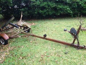 Wanted: old crappy Boat trailer