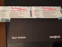 Massive Attack tickets - Bristol X 2