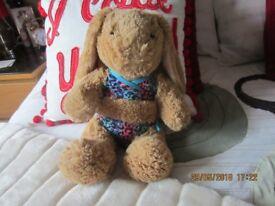 Genuine build a bear girl rabbit.