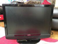 "22"" LCD TV/DVD player"