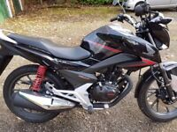 Honda CB125 F motorbike for sale