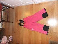 Girls dark pink salopette TOG 24 age 5-6