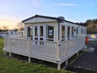 Sited Static Caravan with Decking, 12 Month Season, Sea View, Pet Friendly, Borth, Ceredigion, Wales