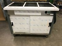 HOT CUPBOARD / BAIN MARIE, 1200mm x 900mm x 700mm, MOBILE, NEW!!! £550