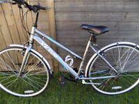Bike lady,s mountain bike aluminium frame