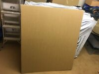 80 sheets of 5mm cardboard 1.2mx1m perfect for packaging, arts and crafts, DIY
