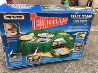Vintage 1992 Matchbox Thunderbirds Tracy Island play set